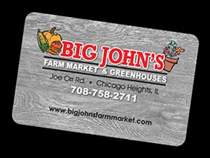 Big Johns Gift Card